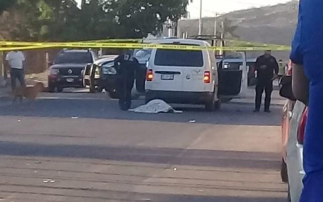 Acribillan a mujer durante el funeral de su hijo en Sonora - Foto de @AguedaBarojas