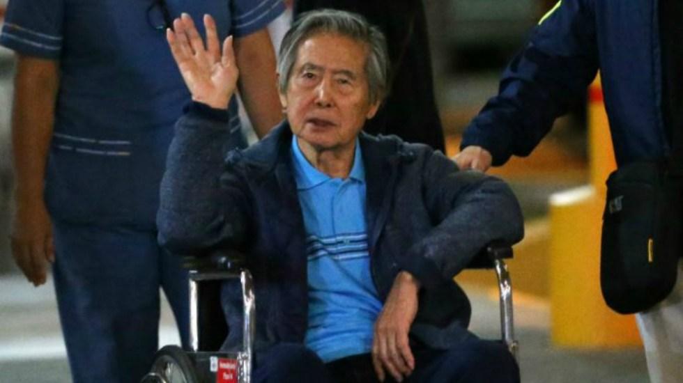 Expresidente peruano Alberto Fujimori regresa a prisión tras alta médica - Foto de GEC