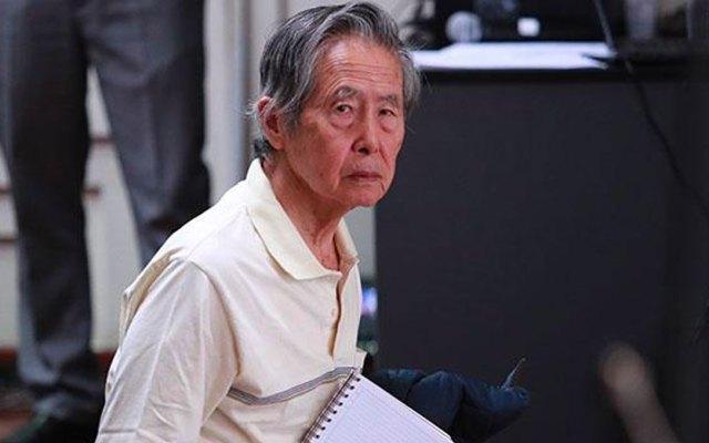 Hospitalizan a Alberto Fujimori por complicaciones estomacales - alberto fujimori