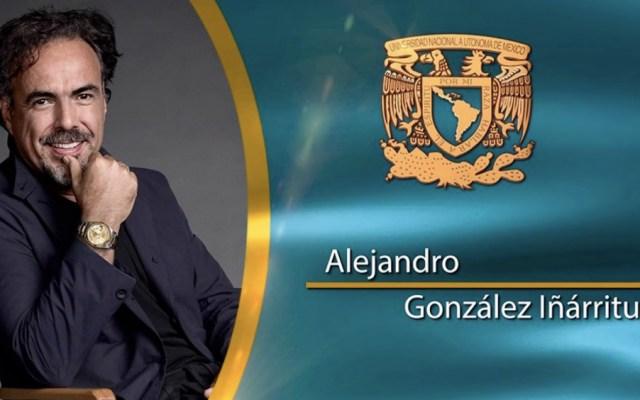 Otorga UNAM grado doctorhonoris causa a Alejandro González Iñarritu - Foto de @UNAM_MX
