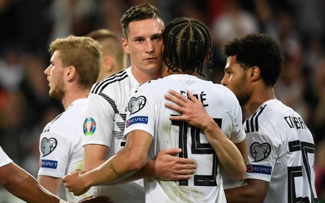 Alemania aplasta a Estonia en eliminatorias de la Euro - Alemania Estonia partido Eurocopa 2020
