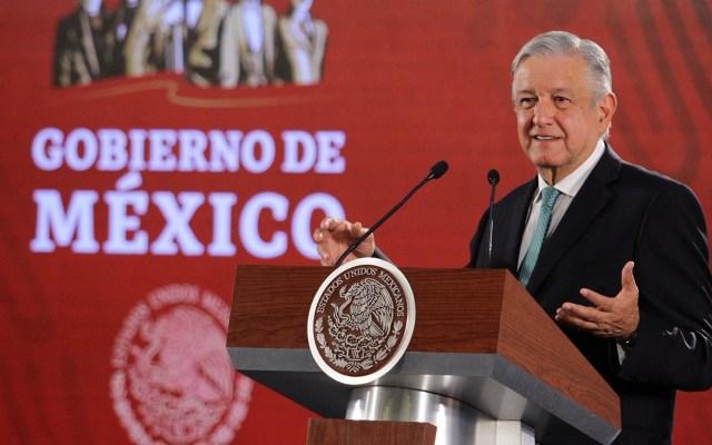AMLO está seguro de que no habrá represalias tras acuerdo con EE.UU. - Conferencia AMLO 10 de junio. Foto de Notimex