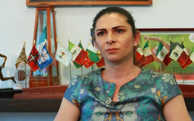 Denuncian a Ana Guevara por intento de homicidio - Ana Guevara. Foto de Notimex
