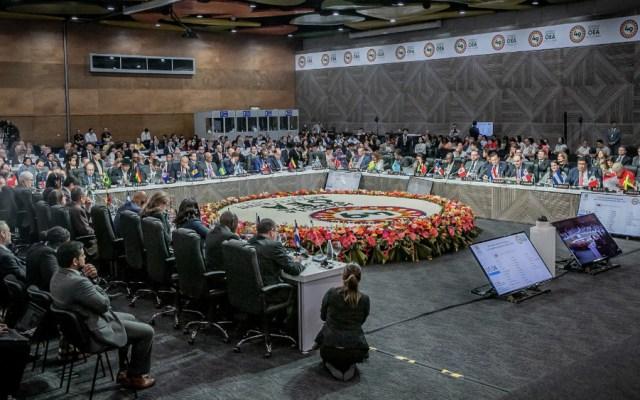 OEA aumenta la presión diplomática sobre Venezuela y Nicaragua - Foto de @OEA_oficial