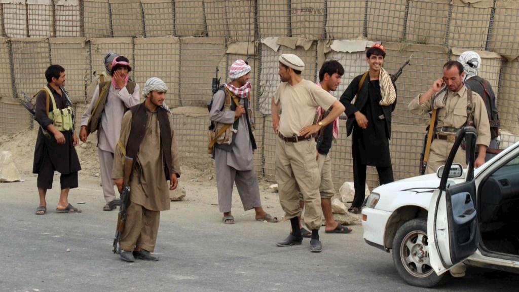 Mueren 25 milicianos en ataques del talibán en Afganistán - ataque afganistán milicias muertos (1)
