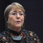 Parlamento de Venezuela pide a Bachelet interceder por diputados presos - Michelle Bachelet, alta comisionada de Derechos Humanos de la ONU. Foto de AFP / Fethi Belaid