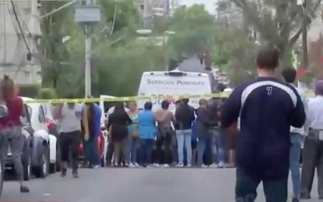 Asesinan a joven con disparos en Coyoacán - Balacera Coyoacán disparos asesinado Ruiz Cortinez