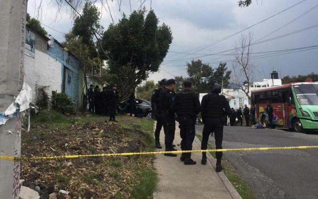Balacera en Tlalpan deja al menos dos muertos; hay nueve detenidos - Balacera Tlalpan