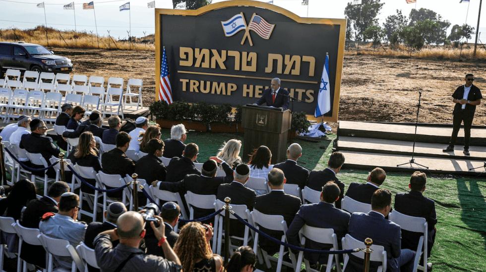 Construirán colonia judía con el nombre de 'Altos de Trump' en el Golán - Foto de AFP