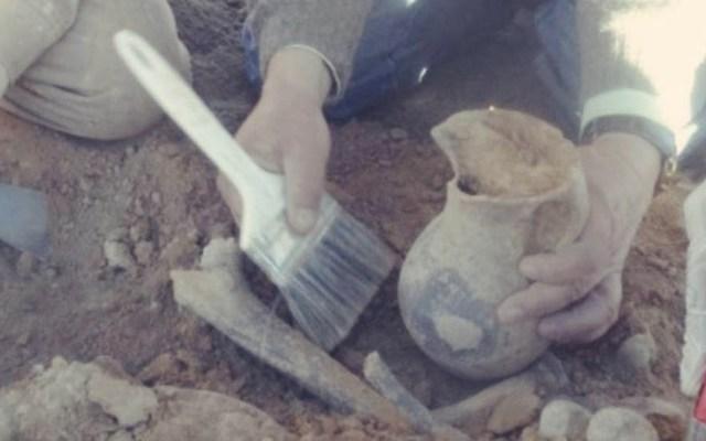 Hallan piezas arqueológicas durante asfaltado de carretera en Bolivia - Bolivia piezas arqueológicas asfalto