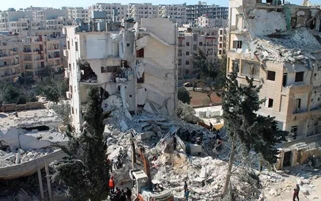 Bombardeos en Siria dejan al menos 45 muertos, entre ellos 10 civiles - siria