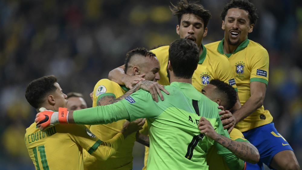 Brasil sufre pero es semifinalista de la Copa América 2019 - Foto de AFP