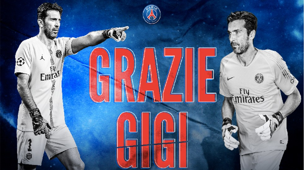 PSG confirma la salida de Gianluigi Buffon - PSG confirma la salida de Gianluigi Buffon