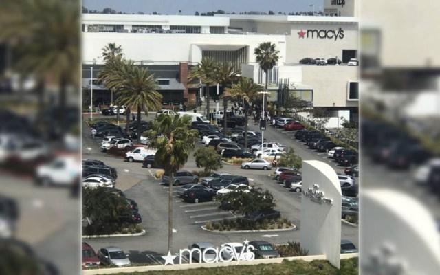 Tiroteo en centro comercial de California deja un herido - California Tiroteo Centro Comercial