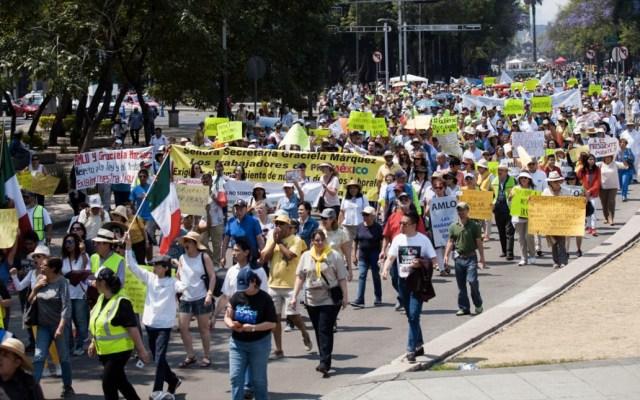 """""""Chalecos Amarillos"""" de Francia se deslinda de versión mexicana - Chalecos Amarillos México marcha"""