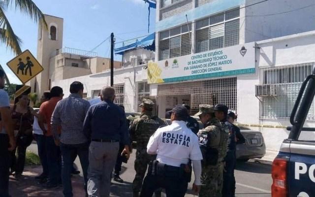 Director de escuela abre paquete con explosivos en Quintana Roo - Chetumal director escuela paquete bomba