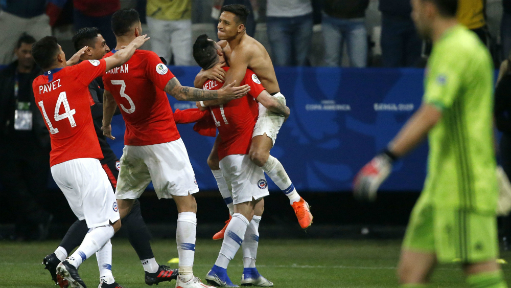 Chile es el tercer invitado a semifinales de la Copa América 2019 - Foto de Mexsport
