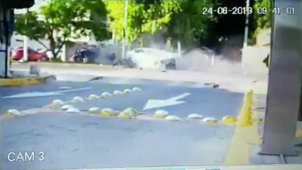 Revelan nuevo video del choque de Joao Maleck - choque joao maleck nuevo video