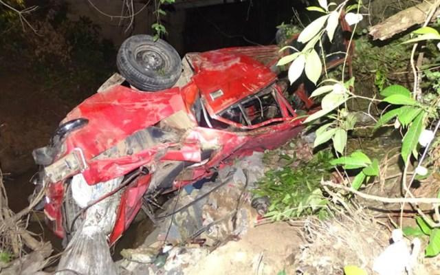 Cinco muertos al caer un automóvil por un barranco en Cuba - Foto de Daimy Díaz Breijo