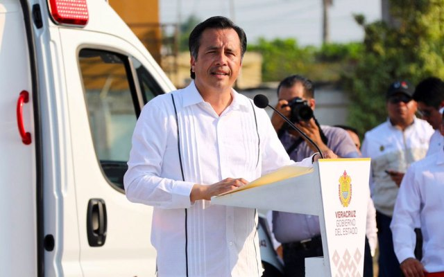 Gobernador de Veracruz exige investigar amenazas contra periodistas - Cuitláhuac García