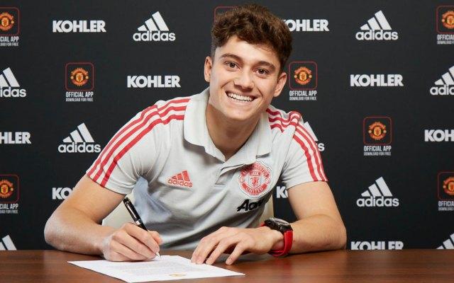 Daniel James firma contrato por cinco años con el Manchester United - Daniel James