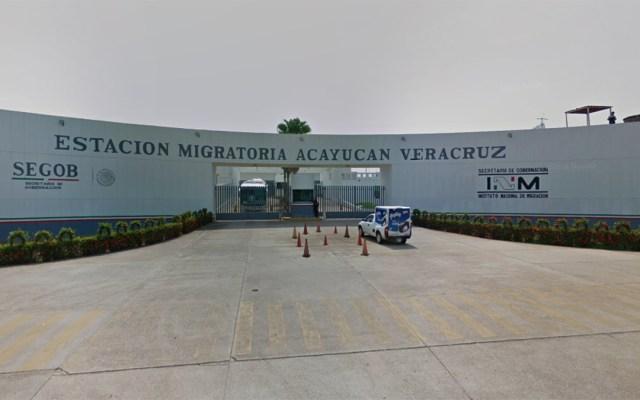 Aseguran a 64 migrantes en Veracruz - migrantes veracruz estación migratoria
