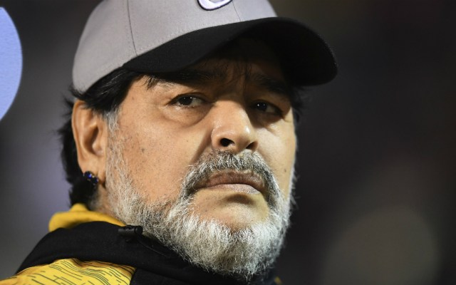 Maradona no seguirá con Dorados de Sinaloa - Foto de Mexsport