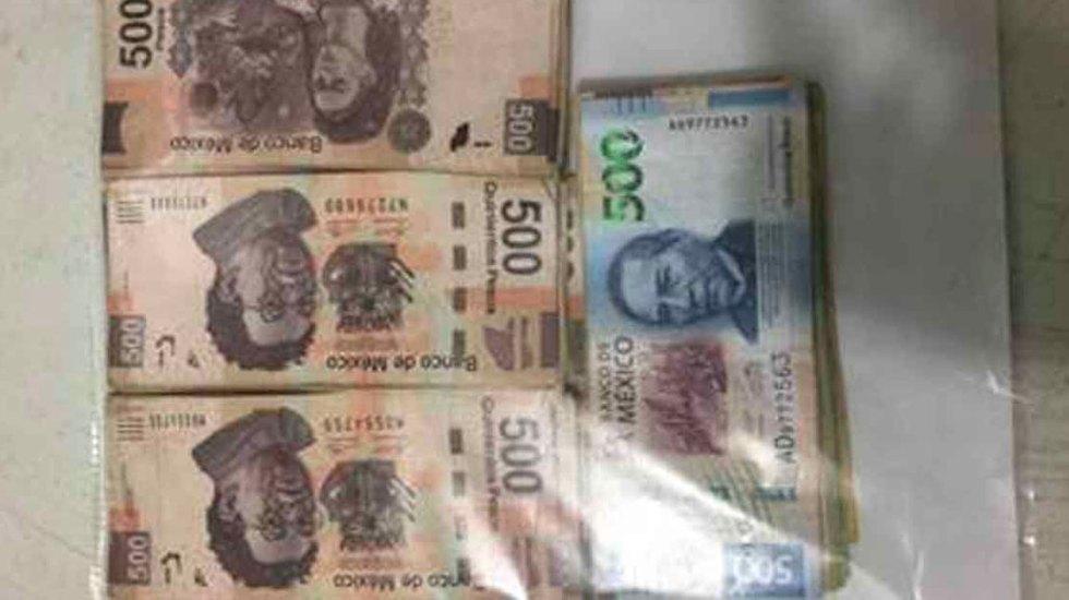 Detienen a dos hombres con dos mil litros de combustible y 35 mil pesos - combustible