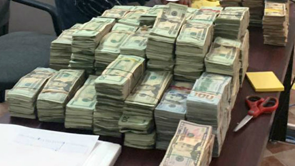 Aseguran en Nuevo Laredo más de un millón de dólares en efectivo. Noticias en tiempo real