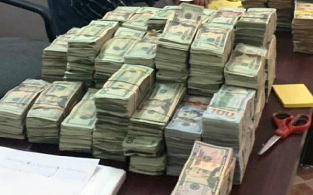 Aseguran en Nuevo Laredo más de un millón de dólares en efectivo - Foto de López-Dóriga Digital