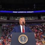 Ser presidente no da ventaja a Trump para reelección - Foto de AFP