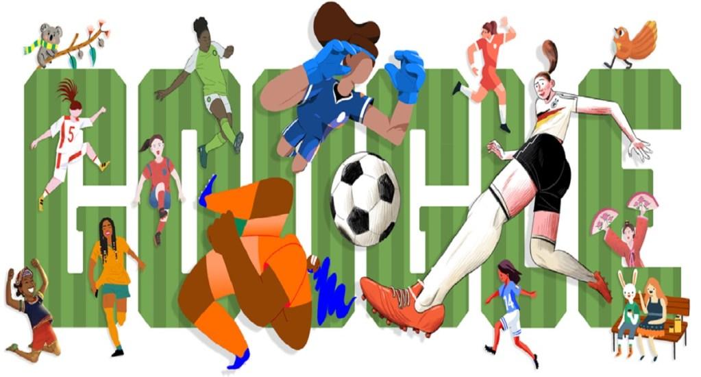 Google celebra inicio del mundial femenil de futbol con doodle. Noticias en tiempo real