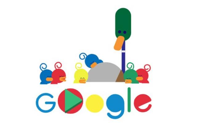Google celebra Día del Padre con doodle animado - Doodle Día del Padre 2019. Captura de pantalla