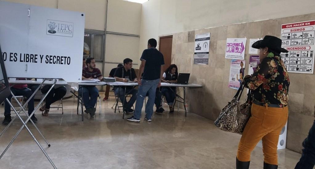Arranca el PREP en Durango - Elecciones Durango casillas IEPC PREP