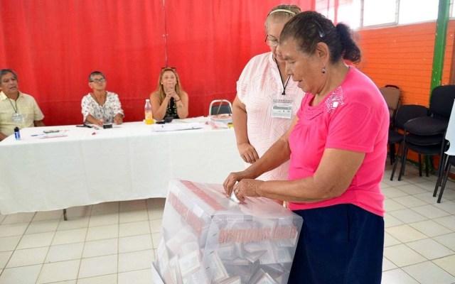 Mexicanas cumplen 64 años de poder votar en elecciones federales - Elecciones en Tamaulipas. Foto de Notimex