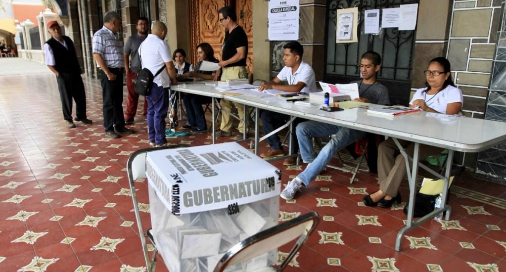 Votos de poblanos en el extranjero se contarán a las 18:00 h - votos Elecciones Puebla INE casillas Instituto Nacional Electoral