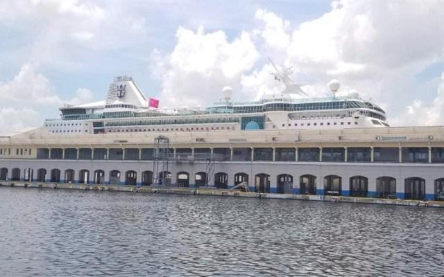 Zarpa el último crucero estadounidense en Cuba tras sanciones de Trump - empress of the seas cuba habana