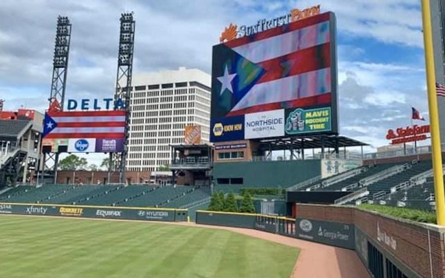 Viuda demanda a los Bravos de Atlanta por muerte de trabajador - Estadio Bravos Atlanta