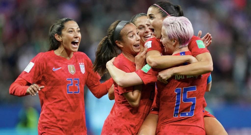 Estados Unidos impone récord goleador en Mundial femenino contra Tailandia - Estados Unidos Tailandia goleada