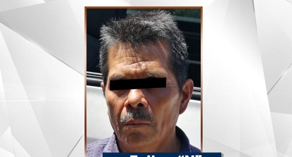 Detienen a multihomicida en Chilapa, Guerrero - Felipe N. está relacionado a un multihomicidio. Foto de @FGEGuerrero