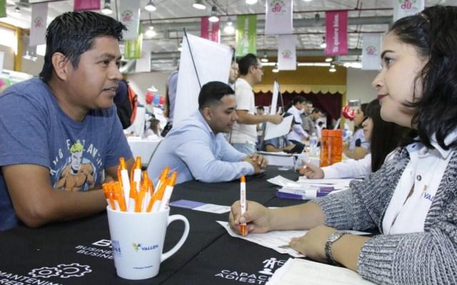 Jonathan Heath prevé aumento en la tasa de desempleo en marzo - Feria del Empleo para Jóvenes en Tampico. Foto de Notimex