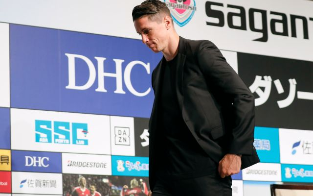 Torres se despide como jugador, pero no del futbol - KMA05. Tokyo (Japan), 23/06/2019.- Spanish soccer player Fernando Torres of Japanese club Sagan Tosu leaves the podium after announcing his retirement from professional soccer during a press conference in Tokyo, Japan, 23 June 2019. Torres said his last match will be against the Vissel Kobe, with Spanish soccer legend Andres Iniesta in the team, on 23 August 2019, to end his professional soccer career of 18 years. (Japón, Tokio) EFE/EPA/KIMIMASA MAYAMA