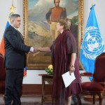 Fiscal de Venezuela dice a Bachelet que oposición es responsable de 77 asesinatos - Fiscal Venezuela Tarek Saab Michelle Bachelet