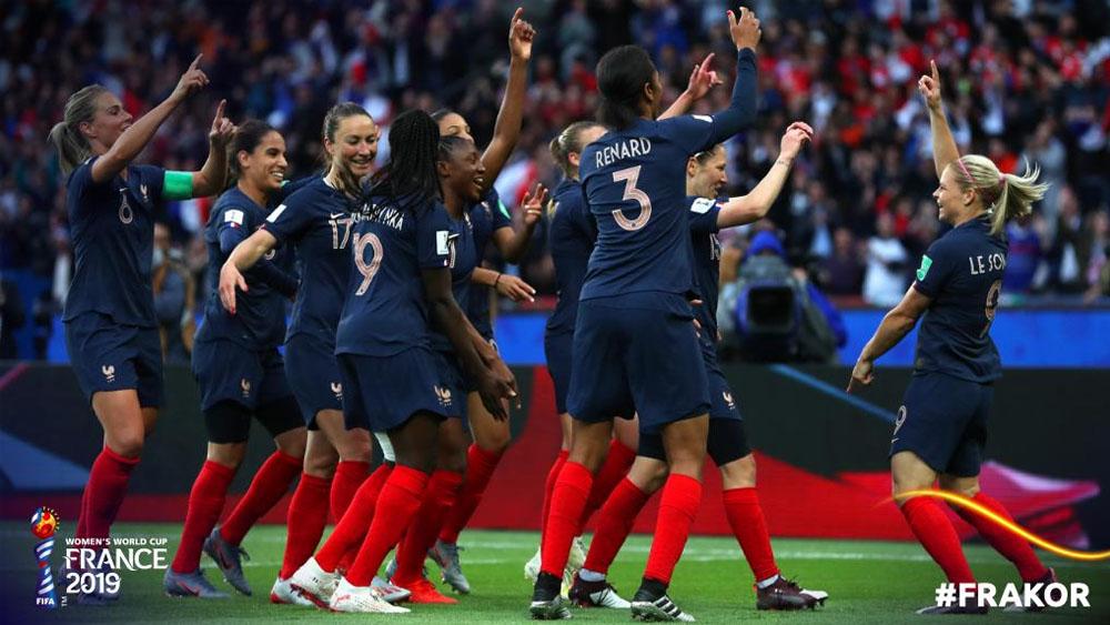 Récord de audiencia por selección femenina en Francia. Noticias en tiempo real