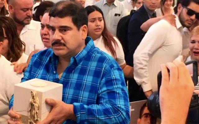 Llegan a Chihuahua los restos de Norberto Ronquillo - funeral norberto ronquillo chihuahua
