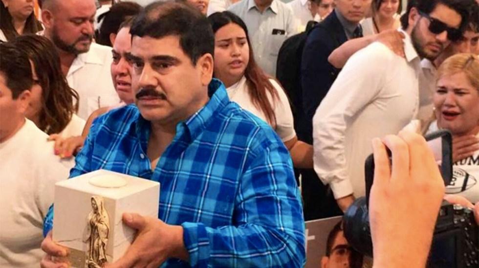 Padre de Norberto duda que asesinato de su hijo se relacione con deuda - funeral norberto ronquillo chihuahua
