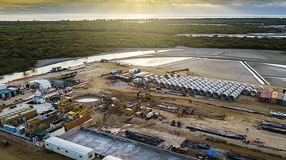 Concluye construcción de gasoducto Texas-Tuxpan - Foto de @TCEnergia