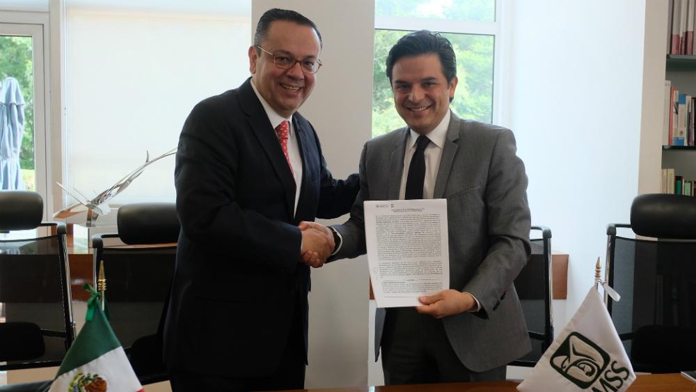 Completan Robledo y Martínez entrega-recepción del IMSS. Noticias en tiempo real