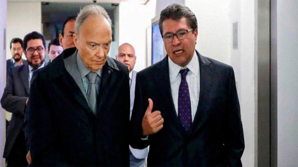 Gertz Manero se reúne con senadores por Ley de Extinción de Dominio. Noticias en tiempo real