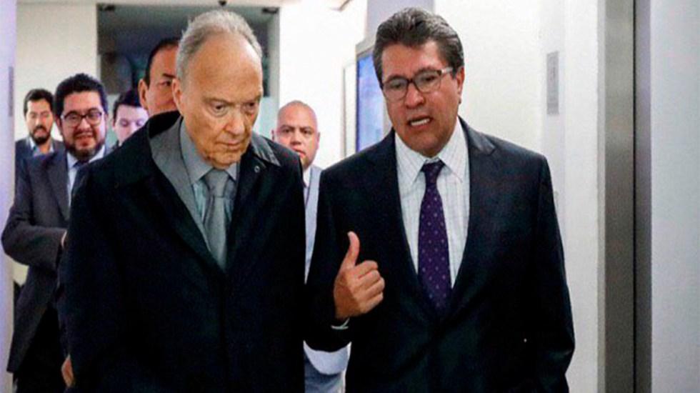 Gertz Manero se reúne con senadores por Ley de Extinción de Dominio - gertz manero senadores ley de extinción de dominio